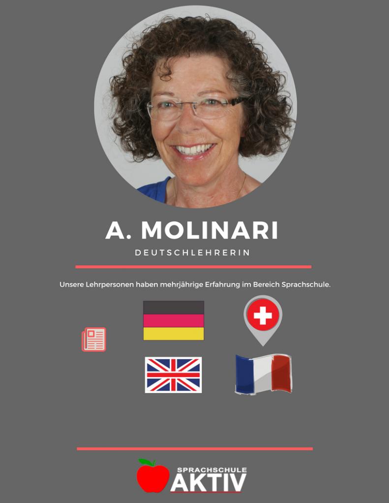 Deutsch Sprachlehrerin in Zürich