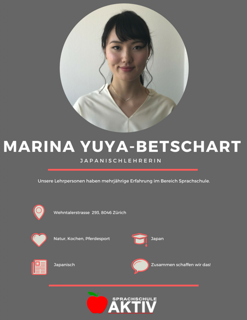 Japanischlehrerin in Zürich