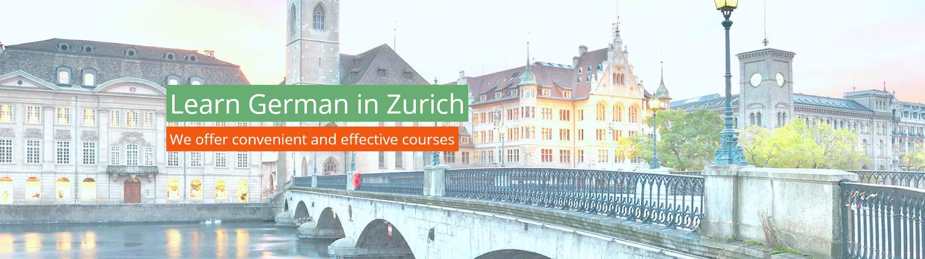 Learn German in Zurich - Studying German in Switzerland