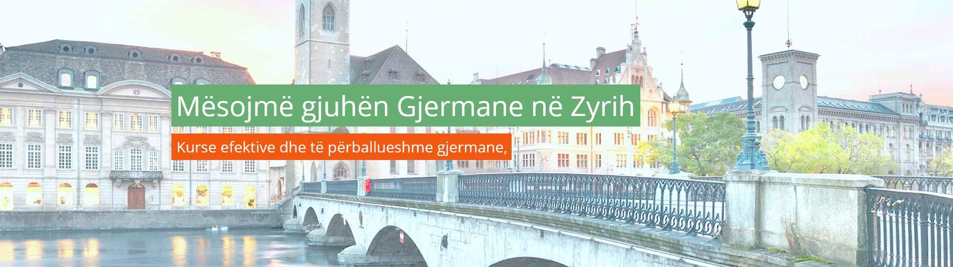 Mësojmë gjuhën Gjermane në Zyrih